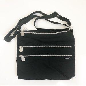 Baggallini | Large 4 Zipper Cross Body Bag